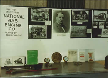 photo from our National Gas Engine Exhibition 25 years ago
